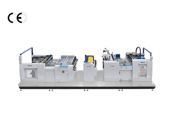 Two Unit Thermal Film Laminating Machine Steel Material Synchronization System